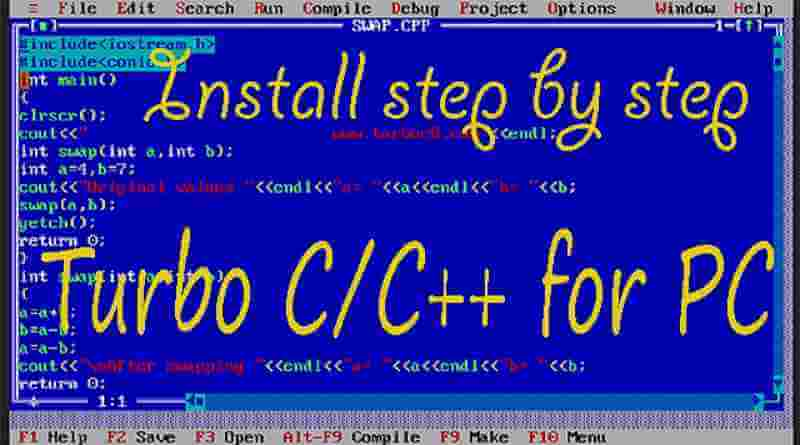 How to Download and Install Turbo C/C++ for Windows 10