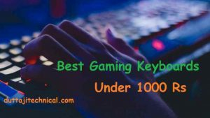 10 Best Gaming Keyboards Under 1000 Rs 2019 (August) 2