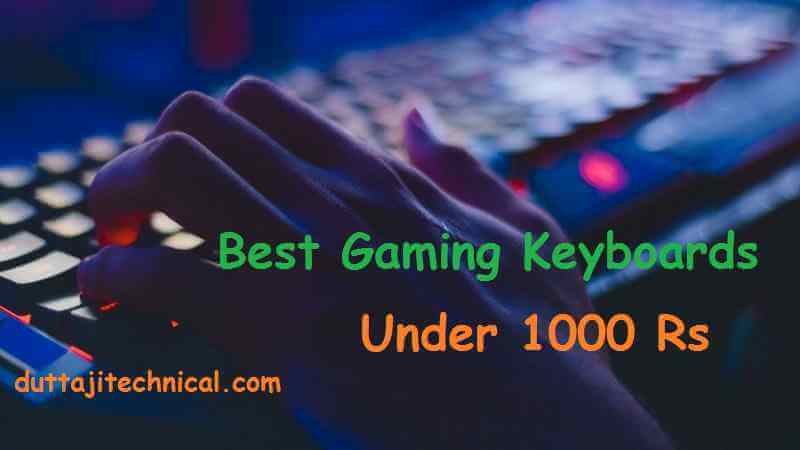 Best Gaming Keyboard Under 1000 Rs