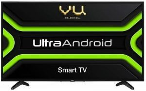 Vu android Smart TV