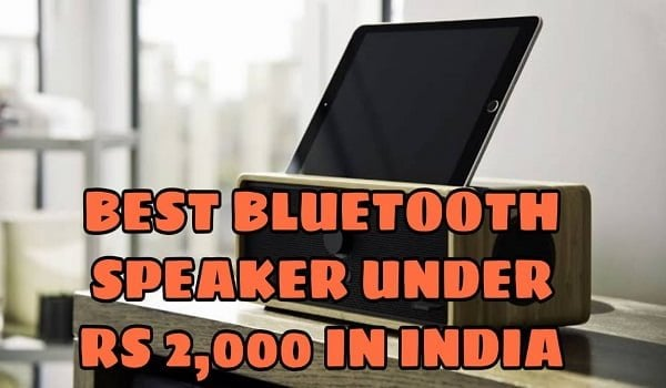 Best Bluetooth Speakers Under 2000 Rs