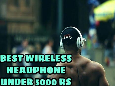 Best Wireless Headphones Under 5000 Rs